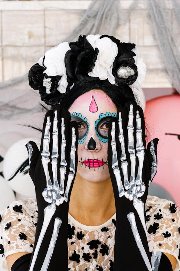 Day of the Dead Halloween Party on Kara's Party Ideas | KarasPartyIdeas.com (9)