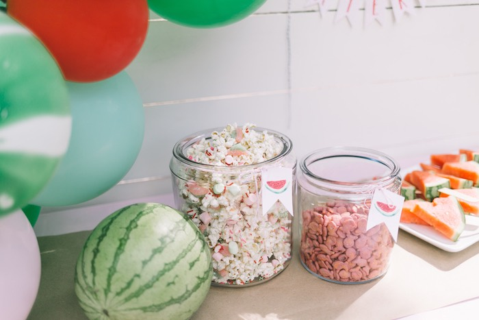 Sweets + Snacks from an End of Summer Watermelon Party on Kara's Party Ideas | KarasPartyIdeas.com (8)