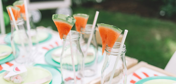 End of Summer Watermelon Party on Kara's Party Ideas | KarasPartyIdeas.com (2)