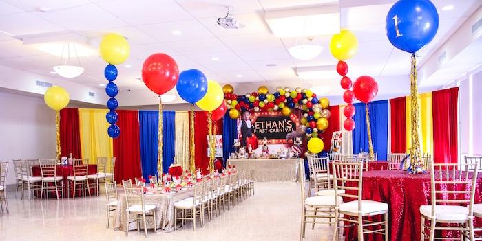 First Birthday Carnival Party on Kara's Party Ideas | KarasPartyIdeas.com (8)