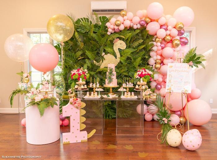 Girly Dino Soiree on Kara's Party Ideas | KarasPartyIdeas.com (16)