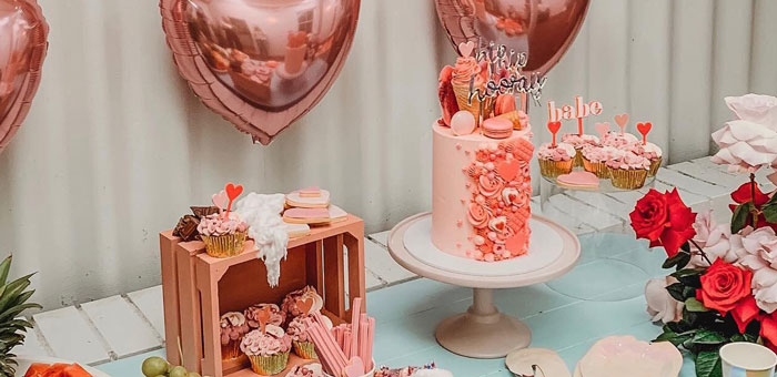 Modern + Pink Girls Run the World Birthday Party on Kara's Party Ideas | KarasPartyIdeas.com (4)
