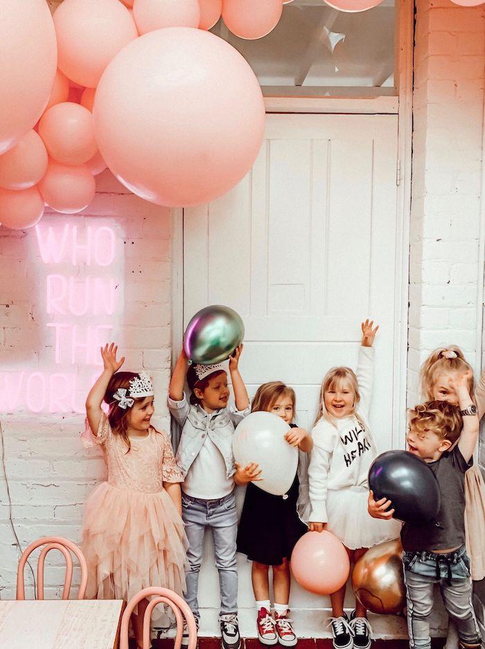Modern + Pink Girls Run the World Birthday Party on Kara's Party Ideas | KarasPartyIdeas.com (25)