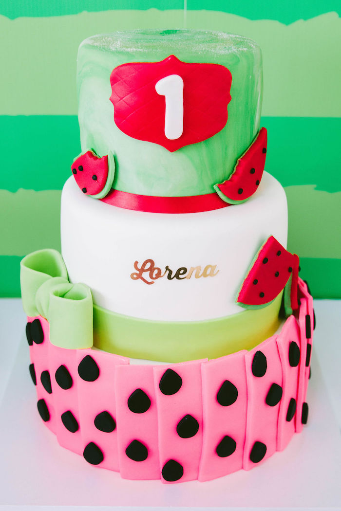 Surprising Karas Party Ideas One In A Melon Modern Watermelon Birthday Party Funny Birthday Cards Online Inifofree Goldxyz