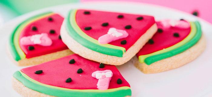 ONE in a MELON Modern Watermelon Birthday Party on Kara's Party Ideas | KarasPartyIdeas.com (4)