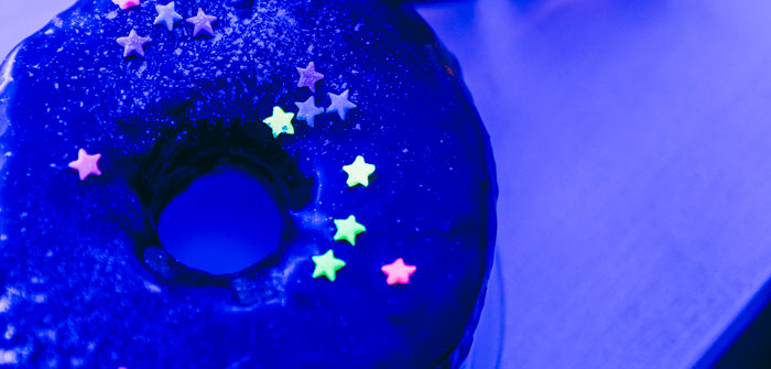 Outer Space Glow-in-the-Dark Birthday Party on Kara's Party Ideas | KarasPartyIdeas.com (3)