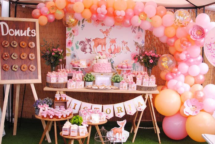 Pastel Woodland Baby Shower on Kara's Party Ideas | KarasPartyIdeas.com (10)