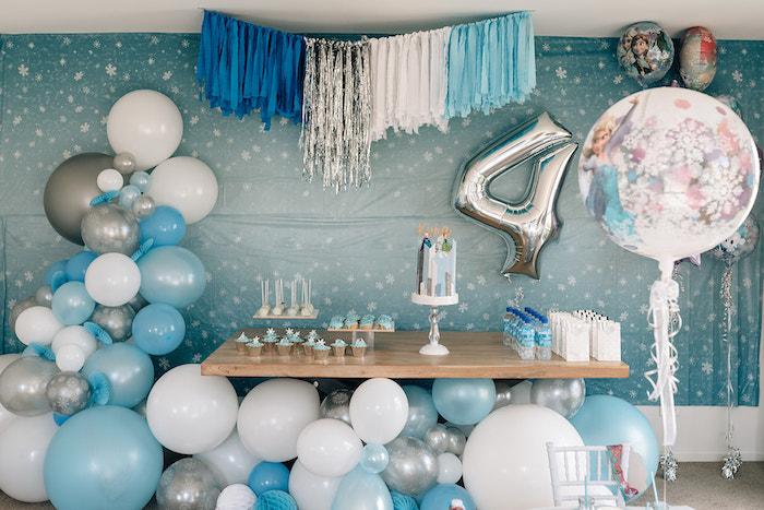 Stylish Frozen Birthday Party on Kara's Party Ideas   KarasPartyIdeas.com (25)