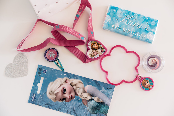 Frozen Themed Party Favors from a Stylish Frozen Birthday Party on Kara's Party Ideas | KarasPartyIdeas.com (16)