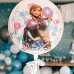 Stylish Frozen Birthday Party on Kara's Party Ideas | KarasPartyIdeas.com (3)