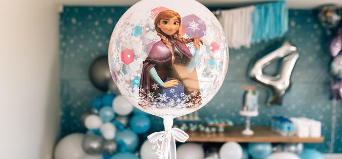 Stylish Frozen Birthday Party on Kara's Party Ideas | KarasPartyIdeas.com (3)