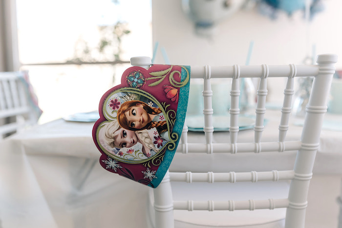 Frozen-printed Crown from a Stylish Frozen Birthday Party on Kara's Party Ideas | KarasPartyIdeas.com (27)