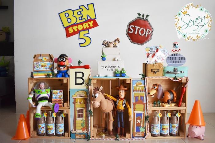 Toy Story Birthday Party on Kara's Party Ideas   KarasPartyIdeas.com (30)
