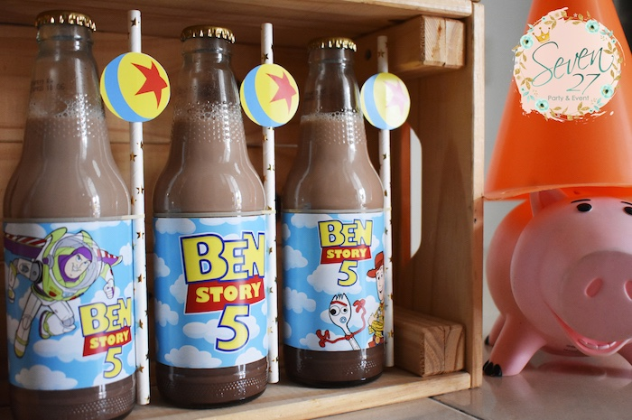 Toy Story Drinks from a Toy Story Birthday Party to Kara's Party Ideas | KarasPartyIdeas.com (23)