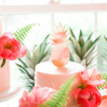 Tropical Flamingo Birthday Party on Kara's Party Ideas | KarasPartyIdeas.com (4)