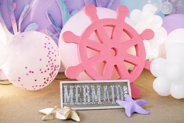 Mermaid Bay from an Under the Sea Birthday Party on Kara's Party Ideas | KarasPartyIdeas.com (22)