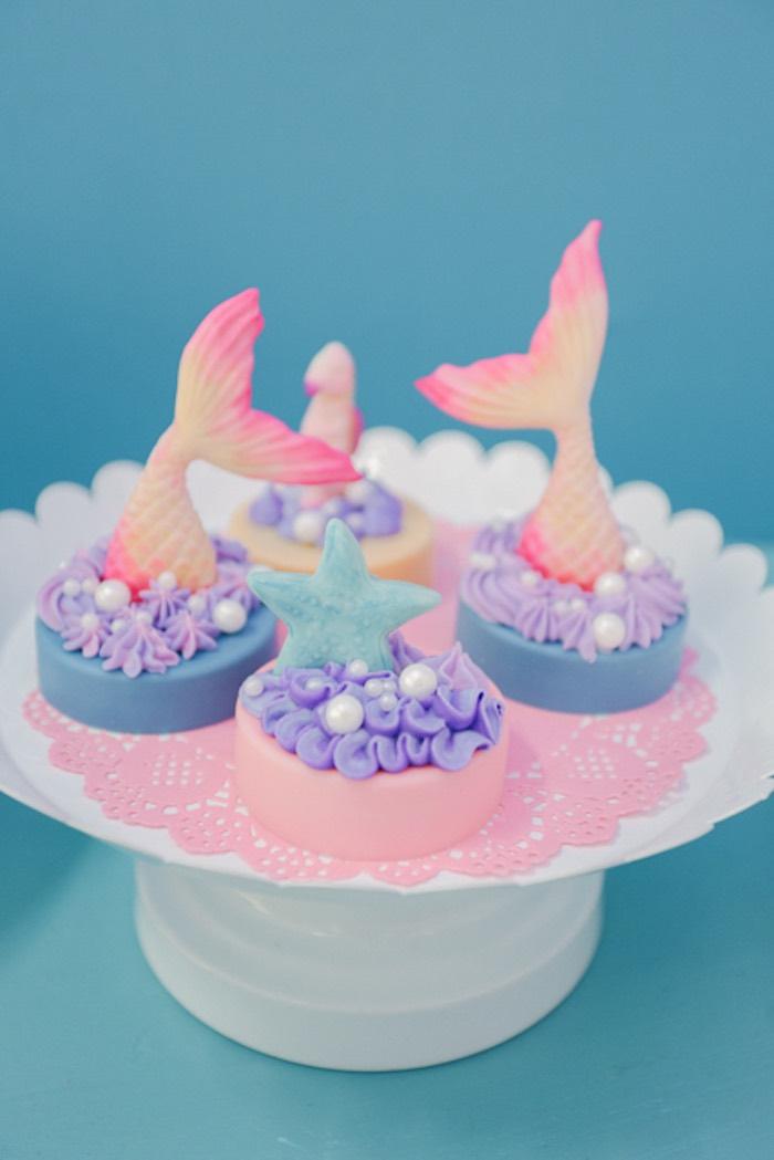 Under the Oreos from an Under the Sea Birthday Party on Kara's Party Ideas | KarasPartyIdeas.com (35)