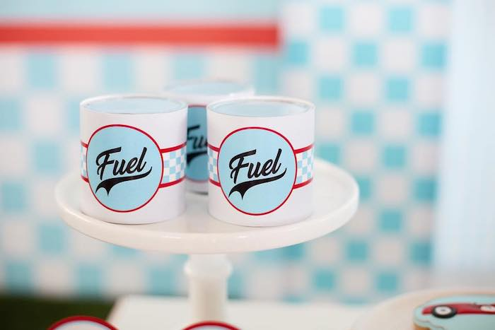 Fuel Favor Tins from a Vintage Grand Prix Birthday Party on Kara's Party Ideas | KarasPartyIdeas.com (24)