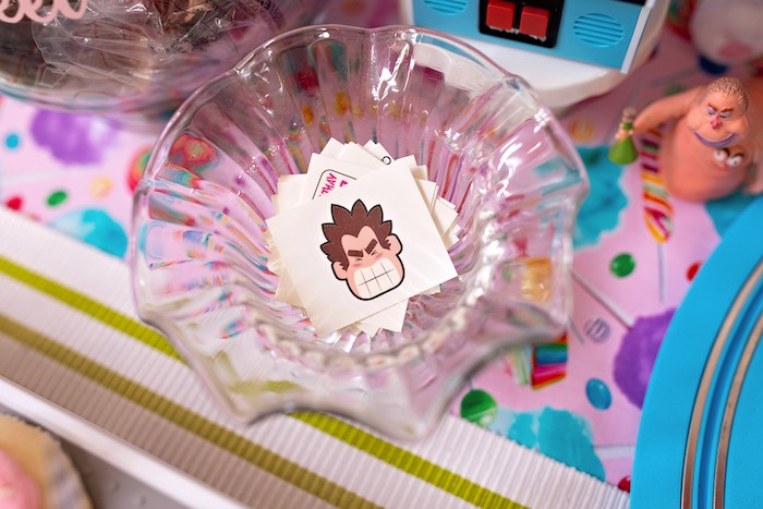 Temporary Wreck-it-Ralph Tattoos from a Wreck-it-Ralph Birthday Party on Kara's Party Ideas | KarasPartyIdeas.com (17)