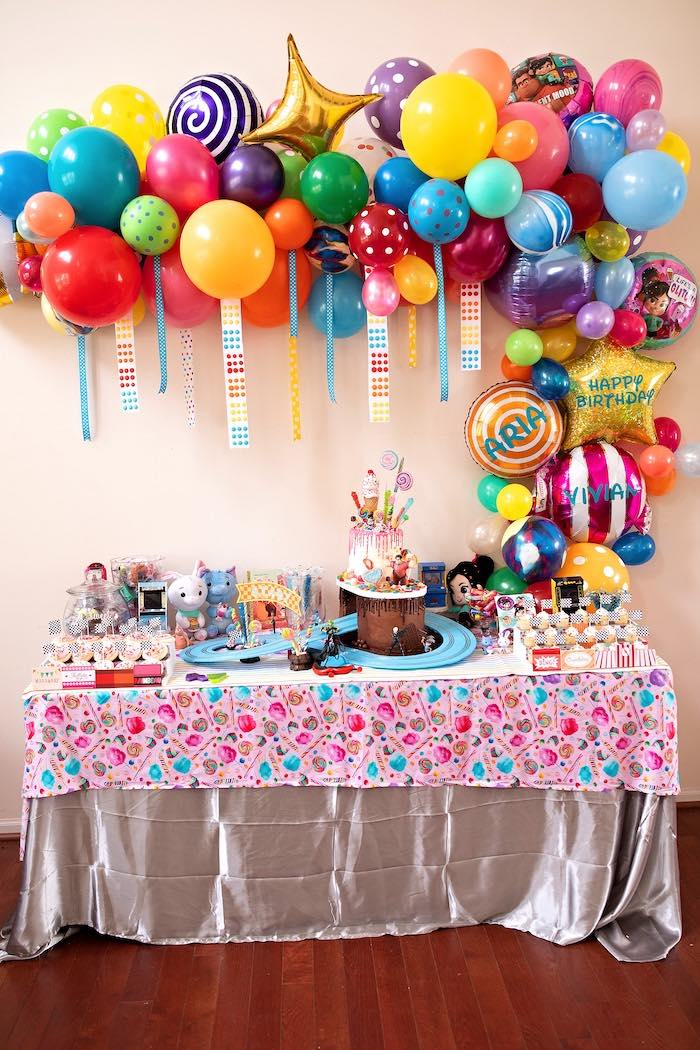 Wreck-it-Ralph Themed Dessert Table from a Wreck-it-Ralph Birthday Party on Kara's Party Ideas | KarasPartyIdeas.com (34)