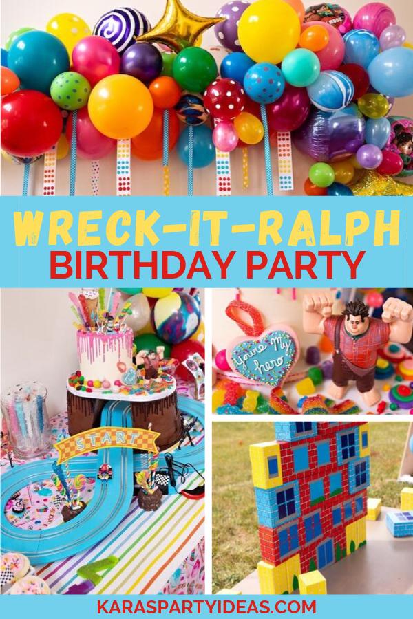 Wreck it Ralph Birthday Party via Kara's Party Ideas - KarasPartyIdeas.com
