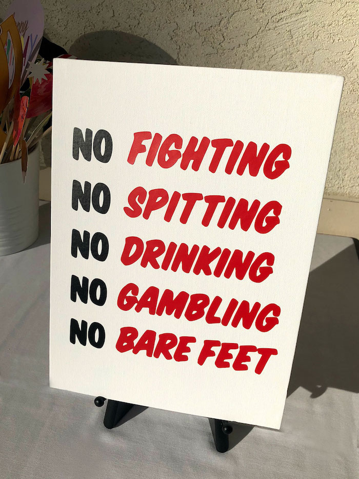 Club Rules + Signage from a Caddyshack Inspired Golf Birthday Party on Kara's Party Ideas | KarasPartyIdeas.com (11)