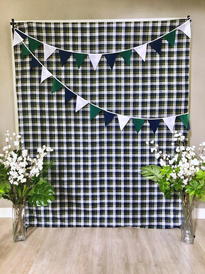 Golf Themed Photo Booth from a Caddyshack Inspired Golf Birthday Party on Kara's Party Ideas | KarasPartyIdeas.com (19)