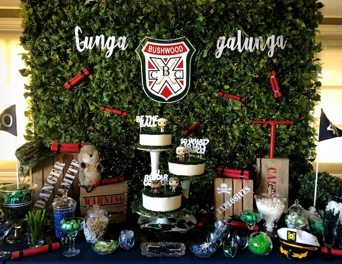 Caddyshack Inspired Golf Birthday Party on Kara's Party Ideas | KarasPartyIdeas.com (16)