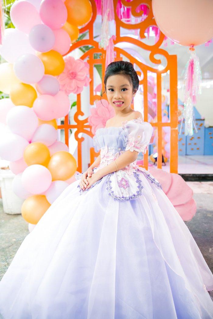 Disneyland Princesses Birthday Party on Kara's Party Ideas | KarasPartyIdeas.com (7)