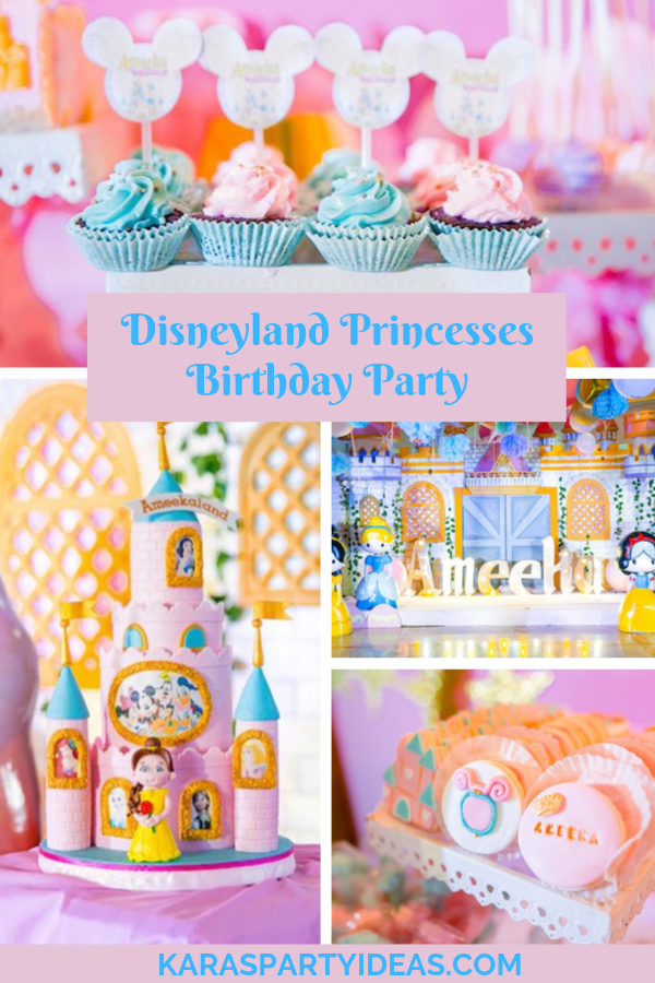 Excellent Karas Party Ideas Disneyland Princesses Birthday Party Karas Funny Birthday Cards Online Aeocydamsfinfo