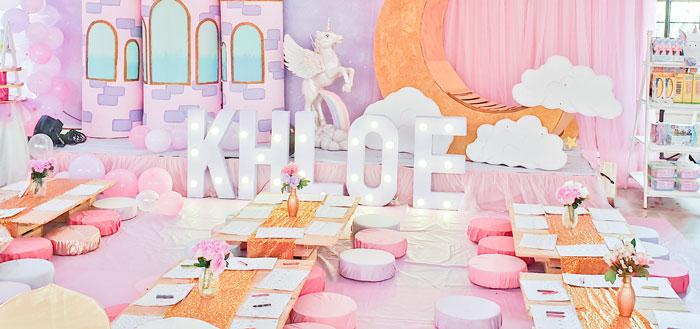 Dreamy Unicorn Birthday Party on Kara's Party Ideas | KarasPartyIdeas.com (3)