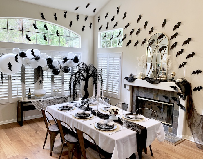 Haunted Halloween Dinner Party on Kara's Party Ideas | KarasPartyIdeas.com