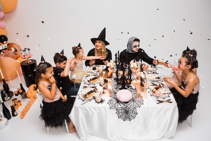 """Glam """"Ghouls Squad"""" Halloween Party on Kara's Party Ideas 