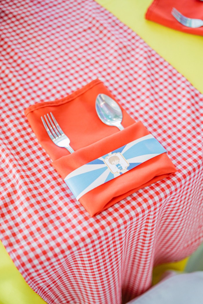 Flatware + Napkin Pack from a Hansel & Gretel Inspired Birthday Party on Kara's Party Ideas | KarasPartyIdeas.com (28)