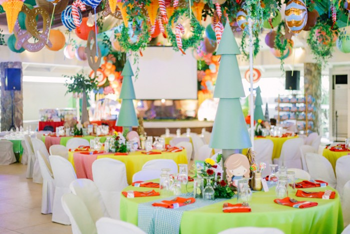 Candy Forest Themed Guest Tables from a Hansel & Gretel Inspired Birthday Party on Kara's Party Ideas | KarasPartyIdeas.com (39)