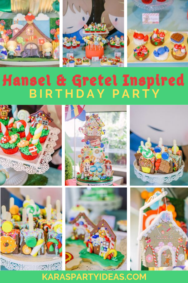 Hansel & Gretel Inspired Birthday Party via Kara's Party Ideas - KarasPartyIdeas.com