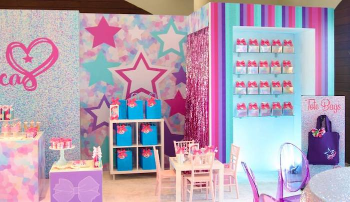 JoJo Siwa Inspired Birthday Party on Kara's Party Ideas | KarasPartyIdeas.com (5)