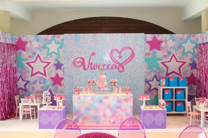 JoJo Siwa Inspired Birthday Party on Kara's Party Ideas | KarasPartyIdeas.com (12)