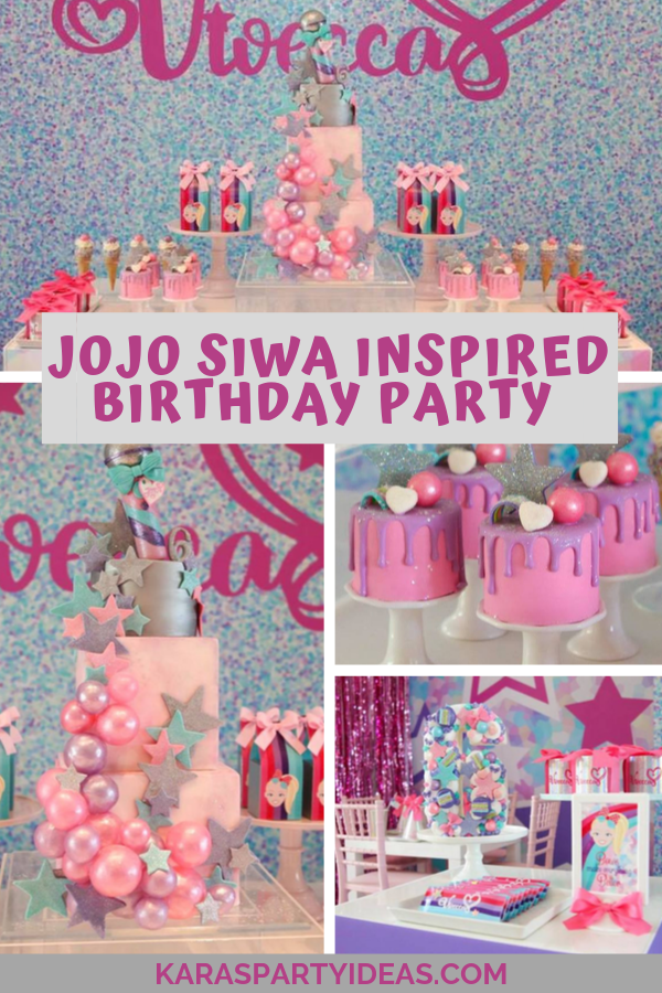 JoJo Siwa Inspired Birthday Party via Kara's Party Ideas - KarasPartyIdeas.com