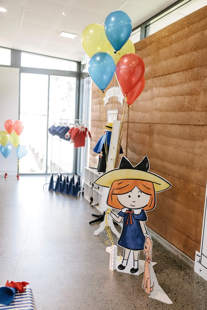 Madeline Standee from a Madeline in Paris Inspired Birthday Party on Kara's Party Ideas | KarasPartyIdeas.com (11)
