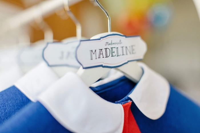 Dress Favor Labels from a Madeline in Paris Inspired Birthday Party on Kara's Party Ideas | KarasPartyIdeas.com (7)