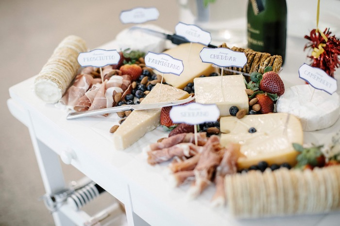 Charcuterie Grazing Table from a Madeline in Paris Inspired Birthday Party on Kara's Party Ideas | KarasPartyIdeas.com (5)