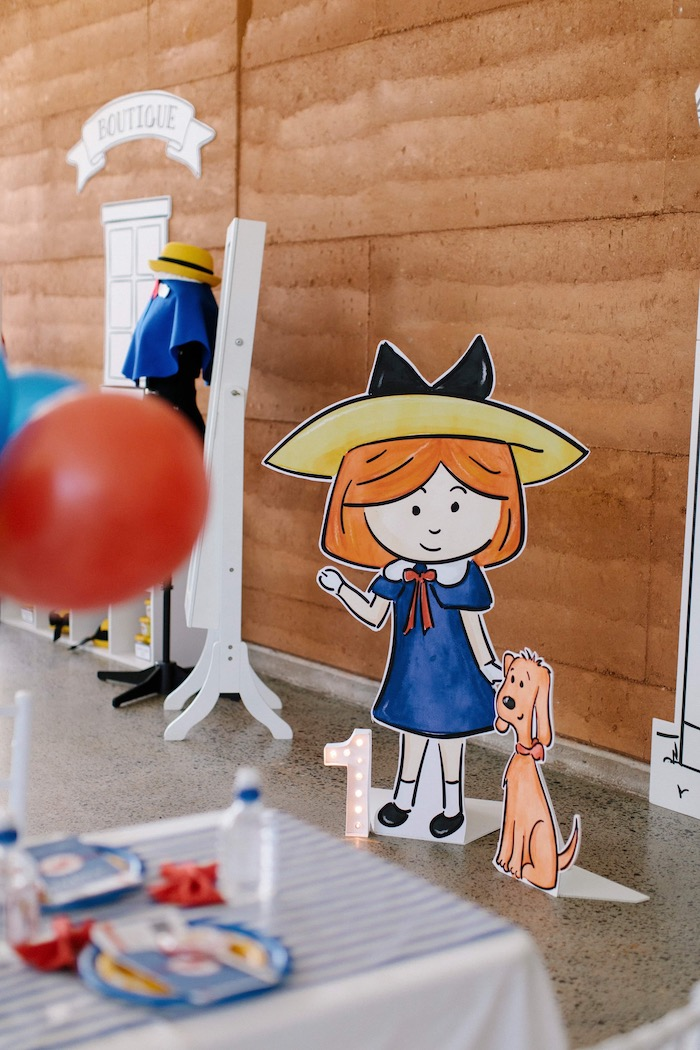 Madeline Standee from a Madeline in Paris Inspired Birthday Party on Kara's Party Ideas | KarasPartyIdeas.com (30)