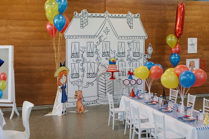 Madeline in Paris Inspired Birthday Party on Kara's Party Ideas | KarasPartyIdeas.com (28)