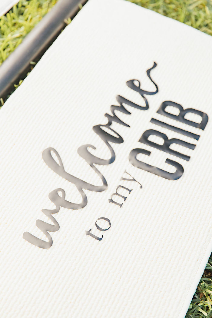 Welcome to my Crib Sign from a Magnolia Market Inspired Birthday Party on Kara's Party Ideas | KarasPartyIdeas.com (21)