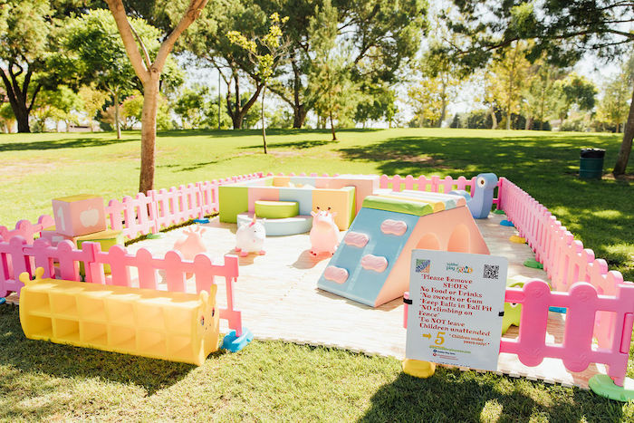 Toddler Play Area from a Magnolia Market Inspired Birthday Party on Kara's Party Ideas | KarasPartyIdeas.com (12)