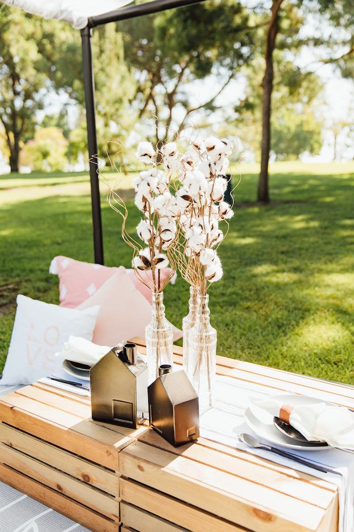 Wood Crate Guest Table from a Magnolia Market Inspired Birthday Party on Kara's Party Ideas | KarasPartyIdeas.com (29)