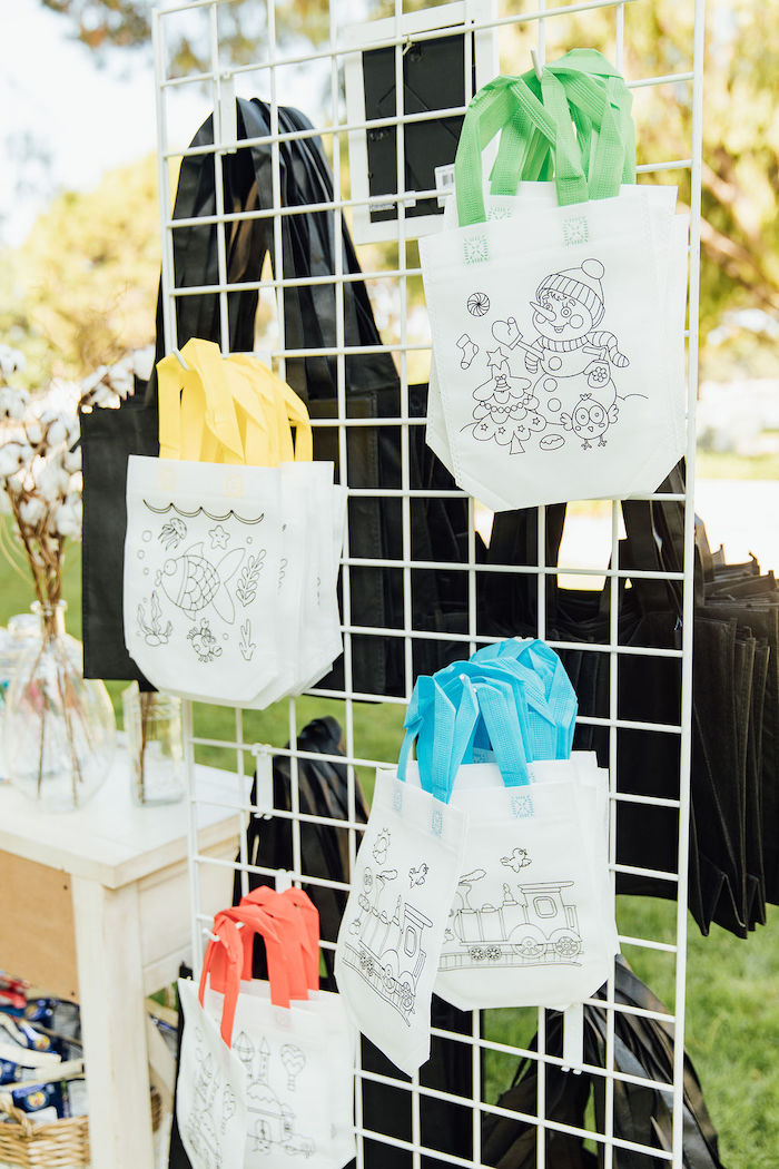 Colorable Canvas Gift Bags from a Magnolia Market Inspired Birthday Party on Kara's Party Ideas | KarasPartyIdeas.com (25)