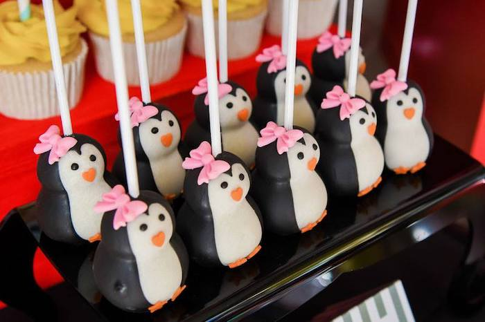 Penguin Cake Pops from a Mary Poppins Birthday Party on Kara's Party Ideas | KarasPartyIdeas.com (79)