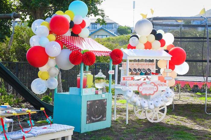 Party Stations from a Mary Poppins Birthday Party on Kara's Party Ideas | KarasPartyIdeas.com (70)